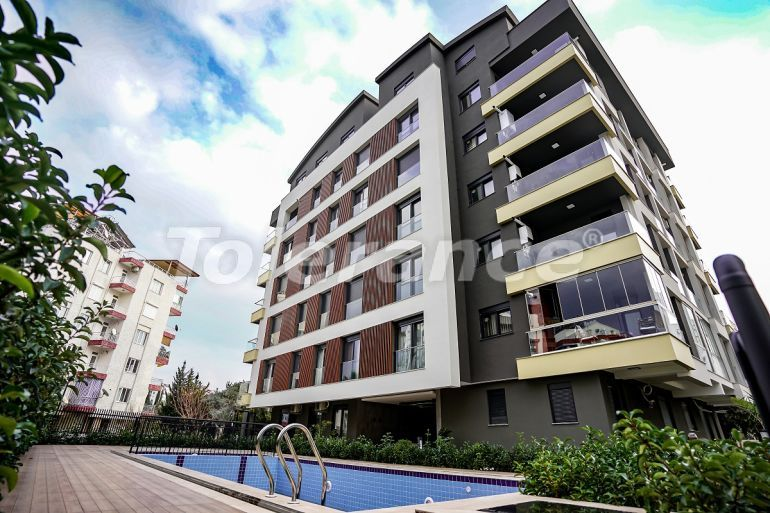 Modern apartments in Uncali, Konyaalti in a complex with a swimming pool - 32180 | Tolerance Homes