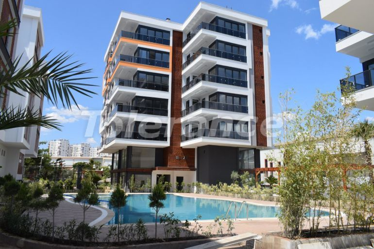 Ultramodern apartments in Kepez, Antalya in a complex with a swimming pool - 30158   Tolerance Homes