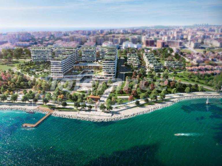 Elite apartments in Buyukcekmece, Istanbul in a complex with a well-developed infrastructure and with the Marmara Sea view - 19102 | Tolerance Homes