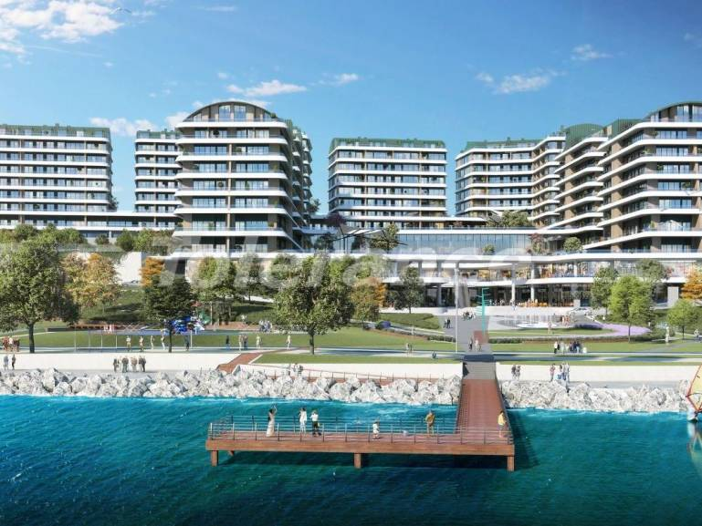 Elite apartments in Buyukcekmece, Istanbul in a complex with a well-developed infrastructure and with the Marmara Sea view - 19101 | Tolerance Homes