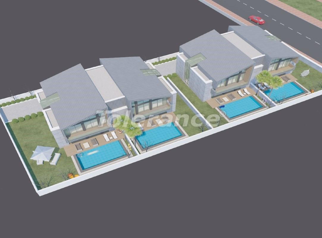 Modern villas in Konyaalti with private pool - 19011 | Tolerance Homes