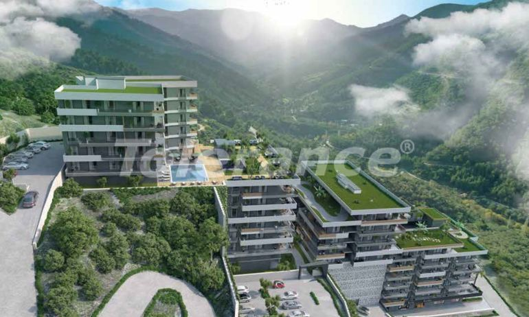 Modern apartments in Izmir with a stunning sea and forest view - 19220 | Tolerance Homes