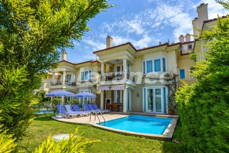 Resale furnished villa in Calis, Fethiye with sea view - 19355 | Tolerance Homes