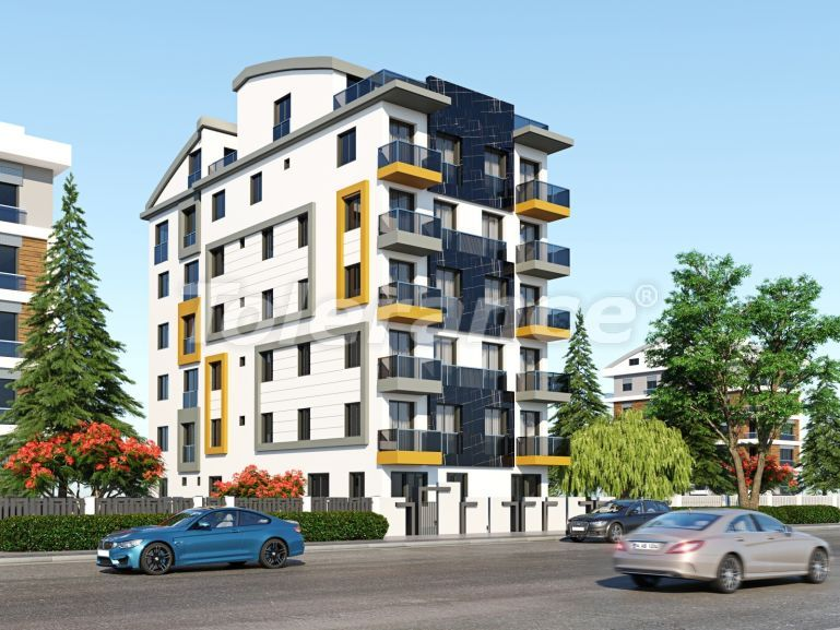 Modern apartments in the center of Antalya with gas heating - 19437 | Tolerance Homes