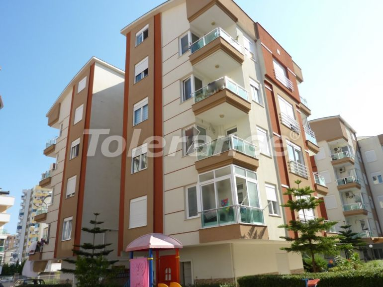 Inexpensive resale three bedroom apartment in Sarisu, Konyaalti in a complex with a swimming pool - 19657 | Tolerance Homes