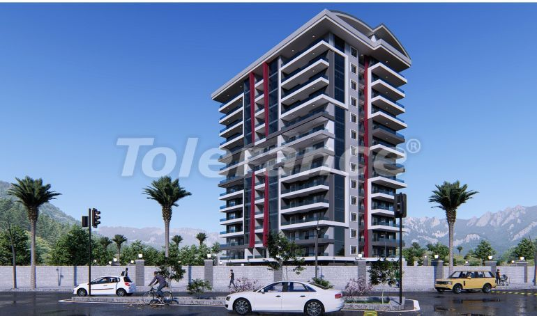 Modern apartments in Mahmutlar with a swimming pool from the reliable developer with installments - 19740   Tolerance Homes