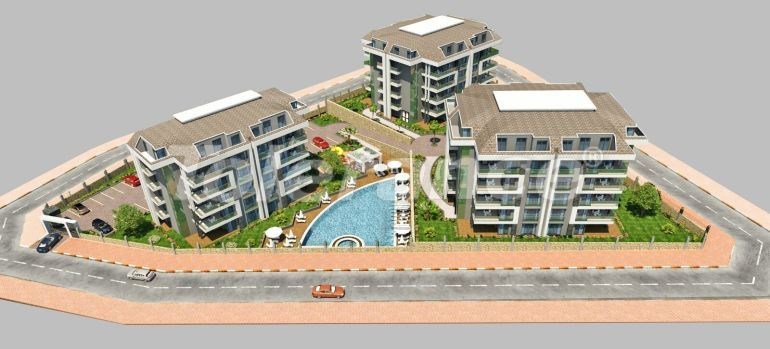 Modern apartments in Oba, Alanya from a reliable developer - 19776 | Tolerance Homes