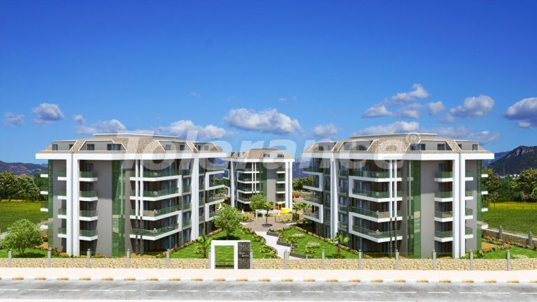 Modern apartments in Oba, Alanya from a reliable developer - 19777 | Tolerance Homes