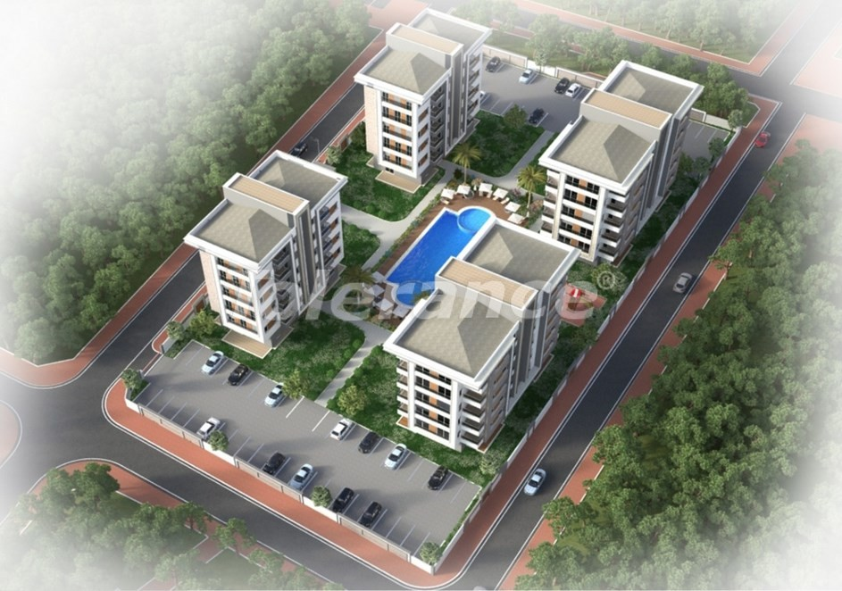 Spacious apartment in Kepez, Antalya in a complex with a swimming pool - 20022   Tolerance Homes