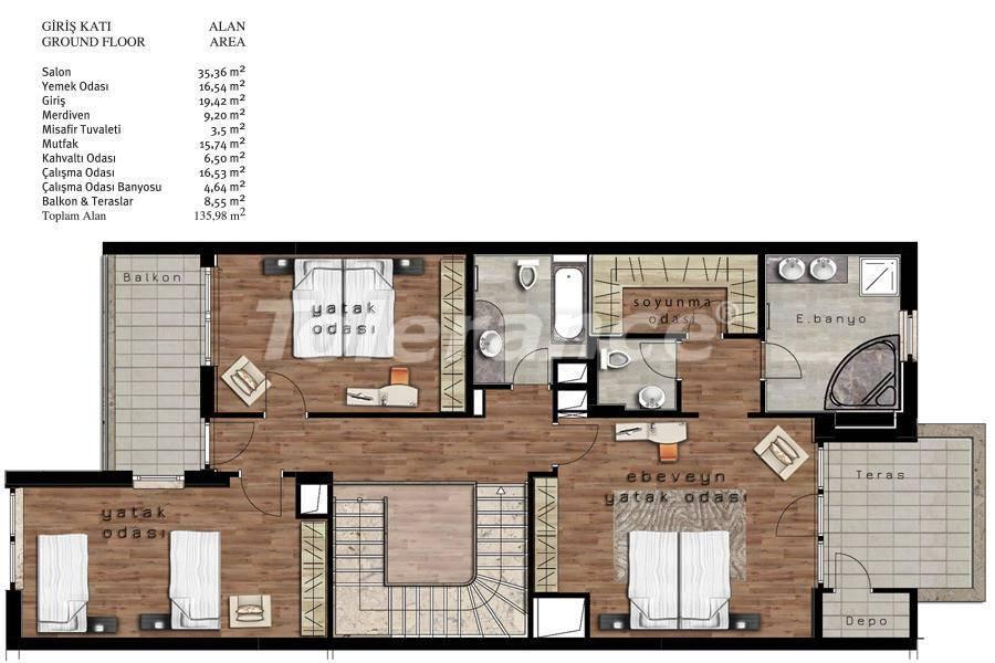 Luxury villas in Beylikduzu, Istanbul in complex with developed infrastructure near the sea - 20085   Tolerance Homes