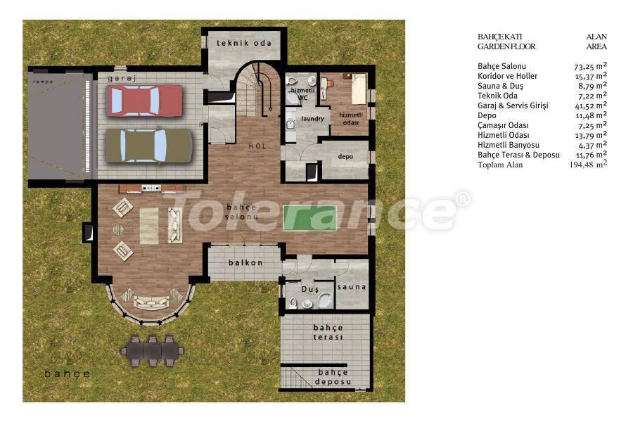 Luxury villas in Beylikduzu, Istanbul in complex with developed infrastructure near the sea - 20091   Tolerance Homes