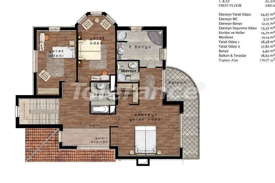 Luxury villas in Beylikduzu, Istanbul in complex with developed infrastructure near the sea - 20084   Tolerance Homes