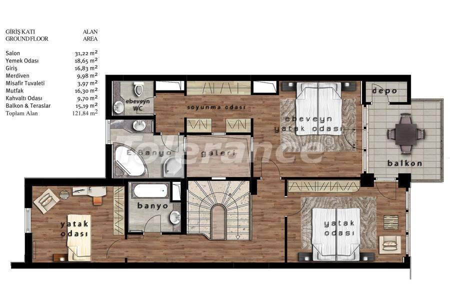 Luxury villas in Beylikduzu, Istanbul in complex with developed infrastructure near the sea - 20081   Tolerance Homes