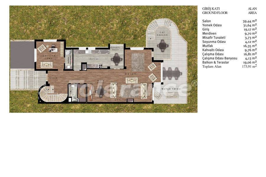 Luxury villas in Beylikduzu, Istanbul in complex with developed infrastructure near the sea - 20098   Tolerance Homes