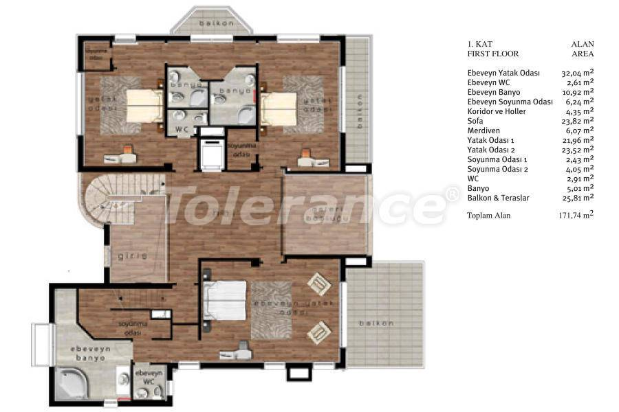 Luxury villas in Beylikduzu, Istanbul in complex with developed infrastructure near the sea - 20096   Tolerance Homes