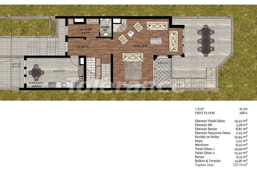 Luxury villas in Beylikduzu, Istanbul in complex with developed infrastructure near the sea - 20080   Tolerance Homes