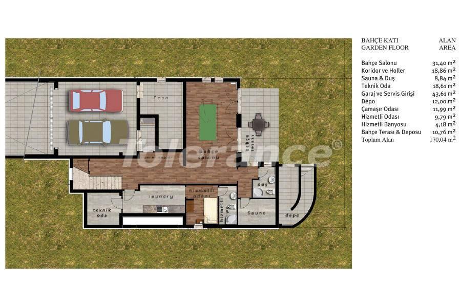 Luxury villas in Beylikduzu, Istanbul in complex with developed infrastructure near the sea - 20082   Tolerance Homes