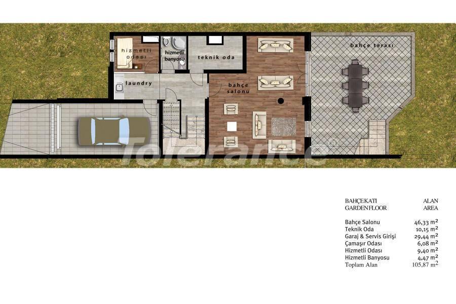 Luxury villas in Beylikduzu, Istanbul in complex with developed infrastructure near the sea - 20079   Tolerance Homes