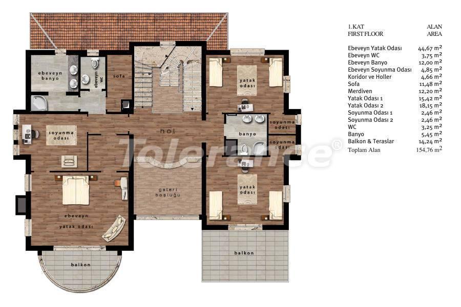 Luxury villas in Beylikduzu, Istanbul in complex with developed infrastructure near the sea - 20093 | Tolerance Homes