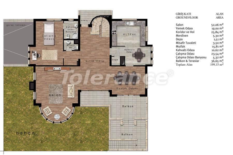Luxury villas in Beylikduzu, Istanbul in complex with developed infrastructure near the sea - 20092 | Tolerance Homes