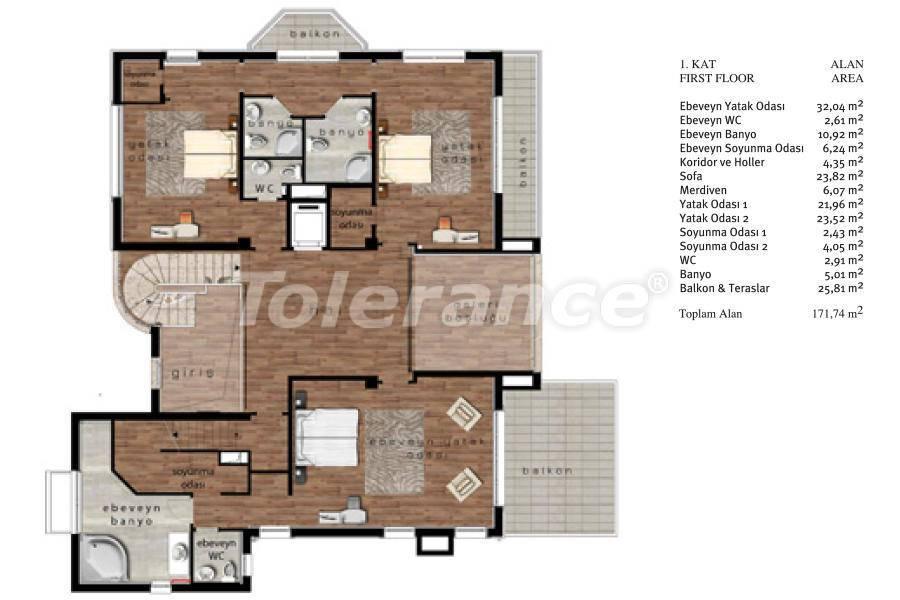 Luxury villas in Beylikduzu, Istanbul in complex with developed infrastructure near the sea - 20096 | Tolerance Homes