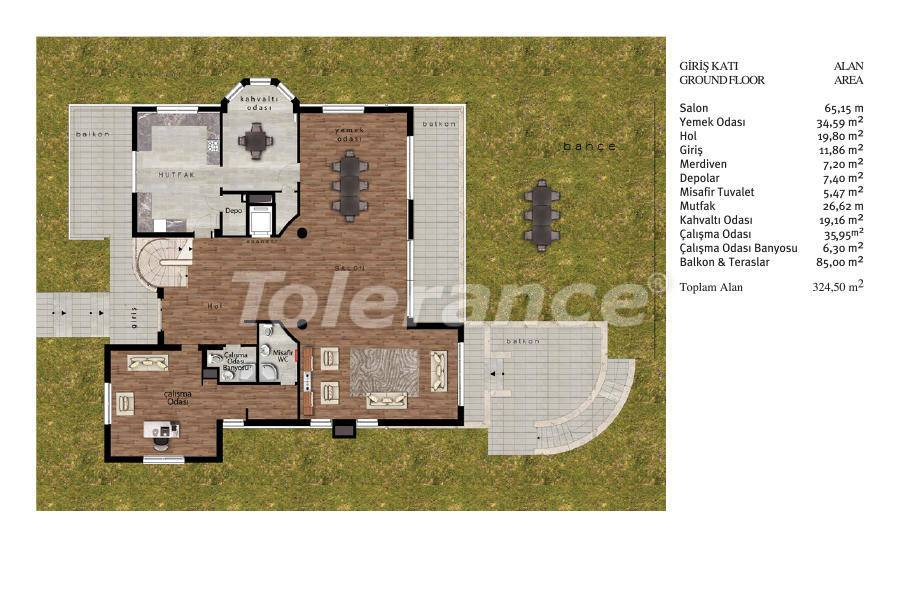 Luxury villas in Beylikduzu, Istanbul in complex with developed infrastructure near the sea - 20095 | Tolerance Homes