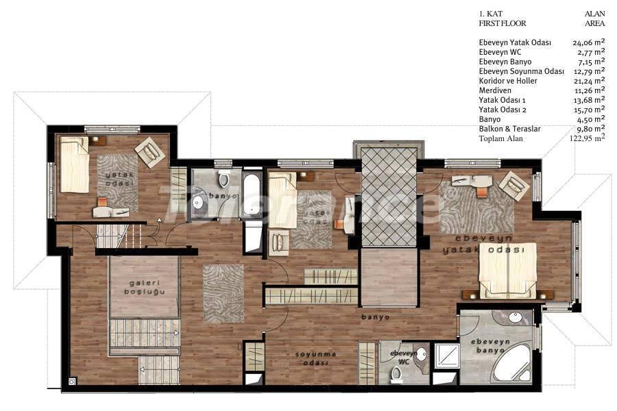 Luxury villas in Beylikduzu, Istanbul in complex with developed infrastructure near the sea - 20099 | Tolerance Homes