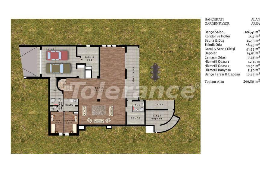 Luxury villas in Beylikduzu, Istanbul in complex with developed infrastructure near the sea - 20094 | Tolerance Homes