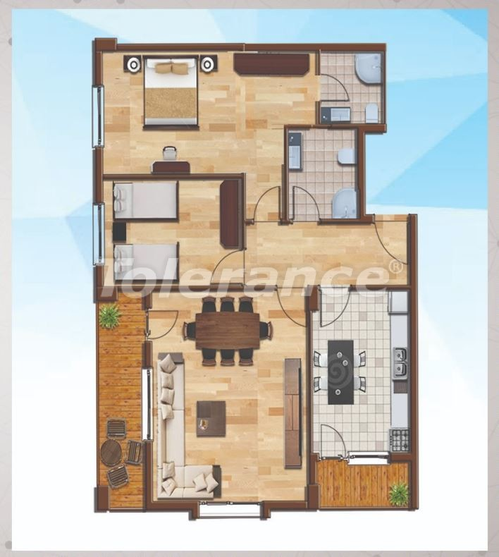 Spacious apartments in Silivri, Istanbul profitable for investment with guarantee income - 20659   Tolerance Homes