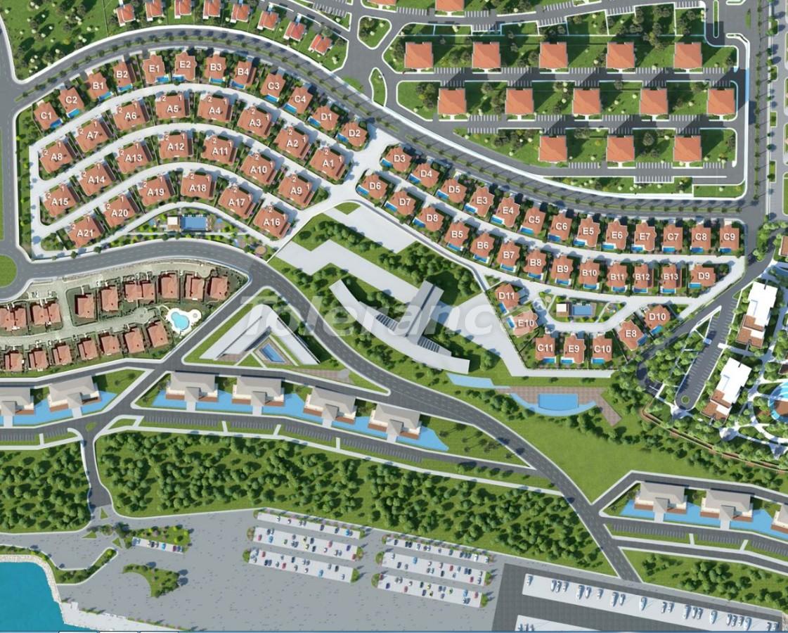 Modern villas in Beylikduzu, Istanbul in a big complex with the stunning Marmara sea view - 20332 | Tolerance Homes