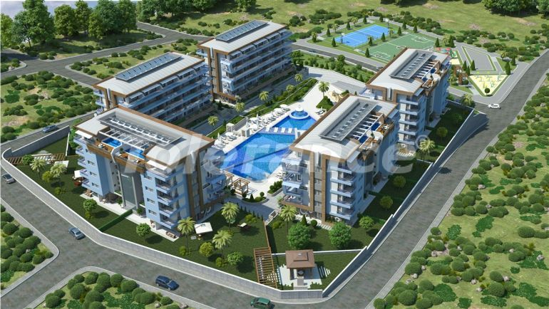 Luxury apartments in Kargicak, Alanya  from one of the best property developers - 20479 | Tolerance Homes