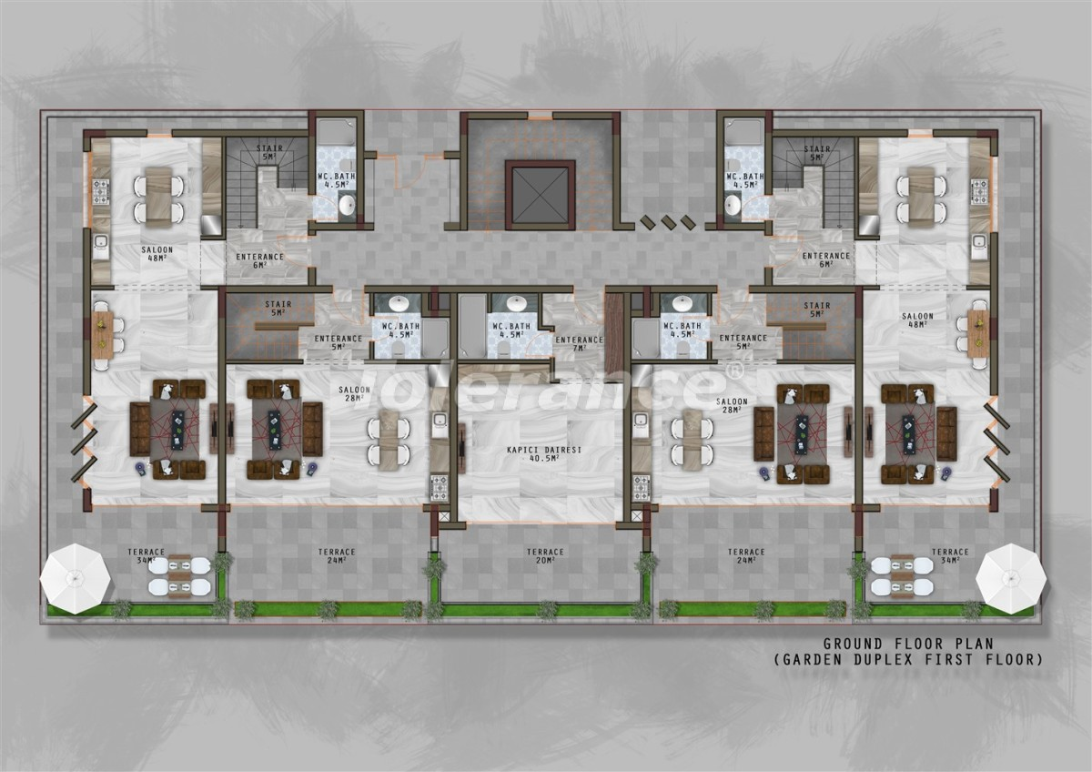 A new project in Kargicak with a separate infrastructure for women and men - 20727 | Tolerance Homes