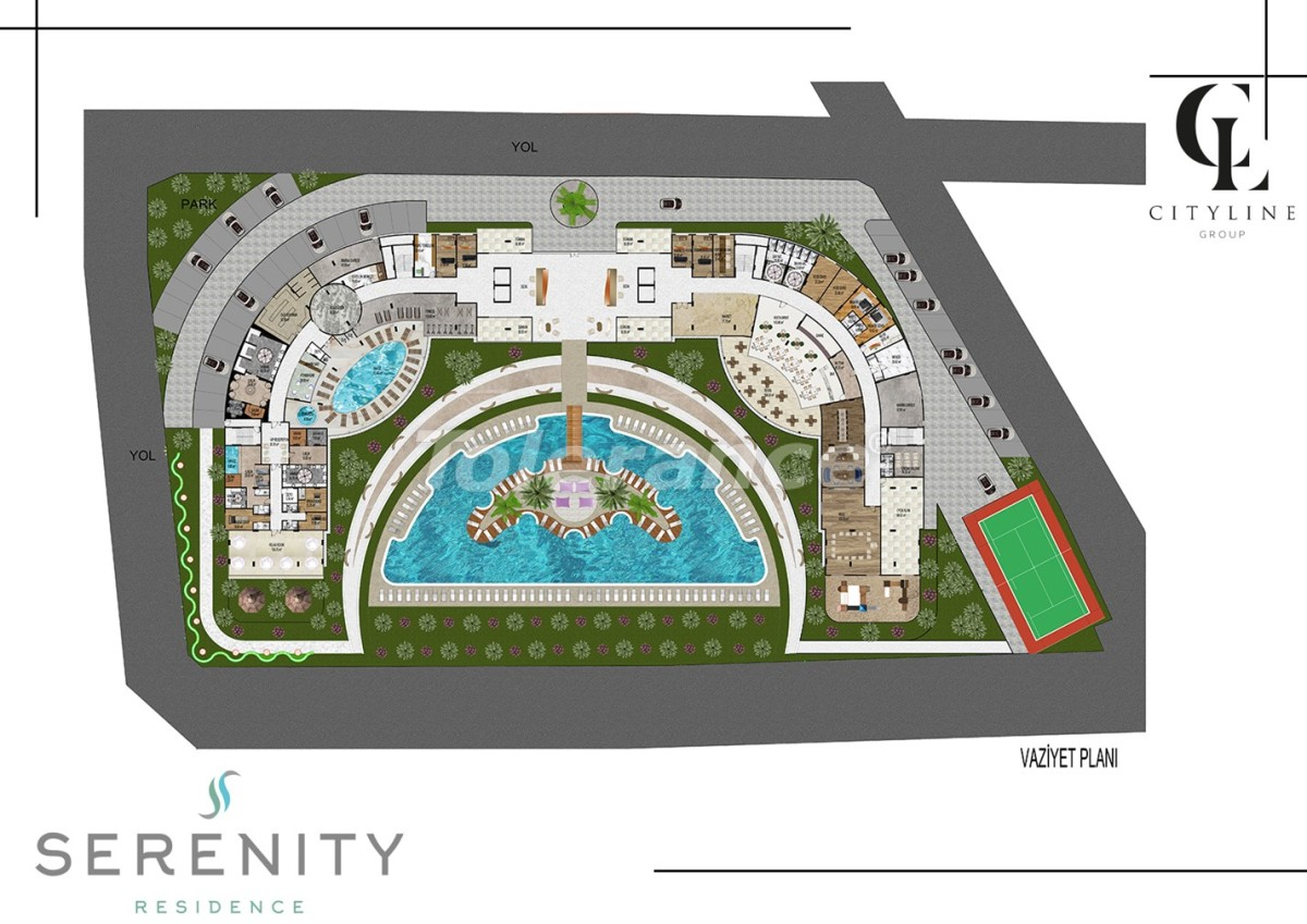 Luxury apartments  in a complex with an outdoor pool, indoor pool, sauna and fitness - 21429   Tolerance Homes