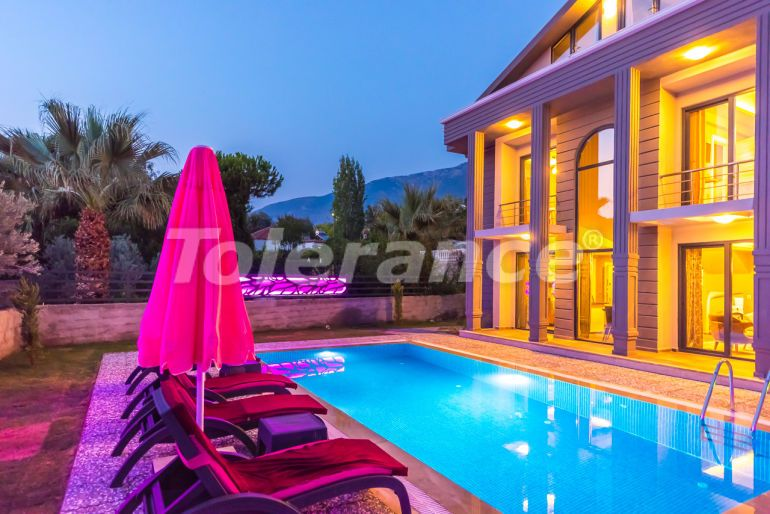 Detached villa  in Fethiye with furniture and private pool - 21504 | Tolerance Homes