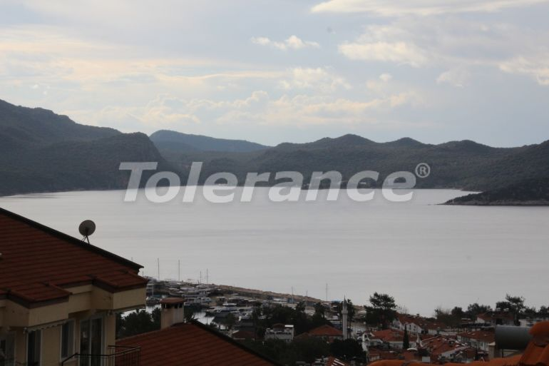 Resale apartment in the center of Kas full furnished with the sea view - 21642 | Tolerance Homes