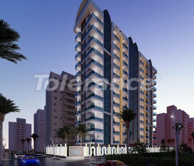 Cheap apartments in Mahmutlar, Alanya in a modern complex - 21705   Tolerance Homes