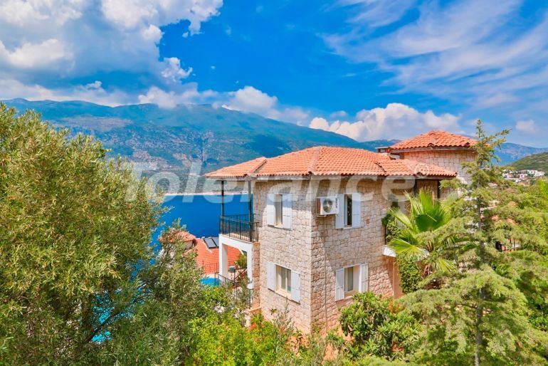 Resale detached villa in Kas full furnished with direct view to the sea and mountains - 21746 | Tolerance Homes