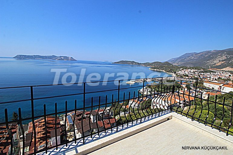 Resale apartment in the center of Kas with furniture and appliances near the sea - 21848 | Tolerance Homes