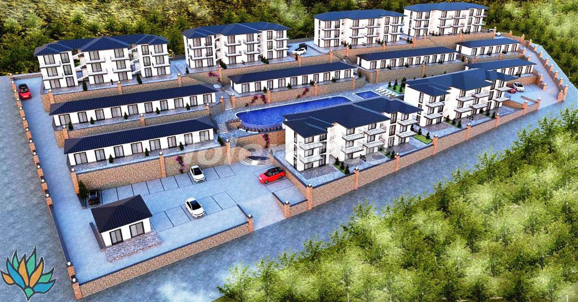 Apartments in Didim with panoramic sea views - 21997   Tolerance Homes