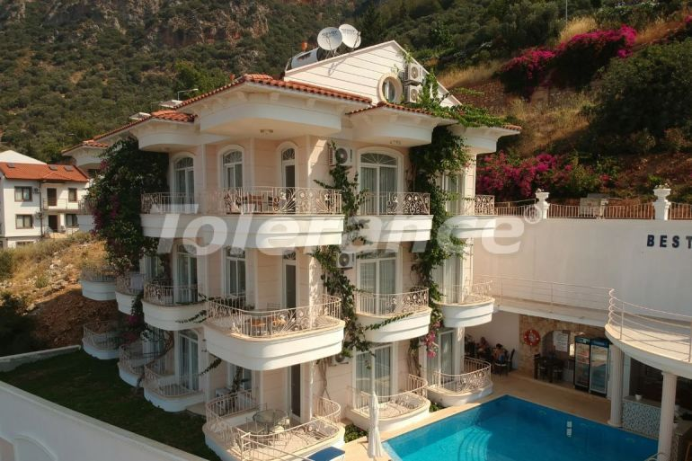 Apart hotel in the center of Kas with outdoor pool and direct sea view - 22212   Tolerance Homes