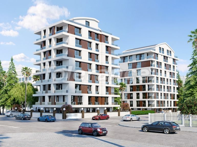 Inexpensive apartments in the center of Antalya from a reliable developer with installments - 22099   Tolerance Homes