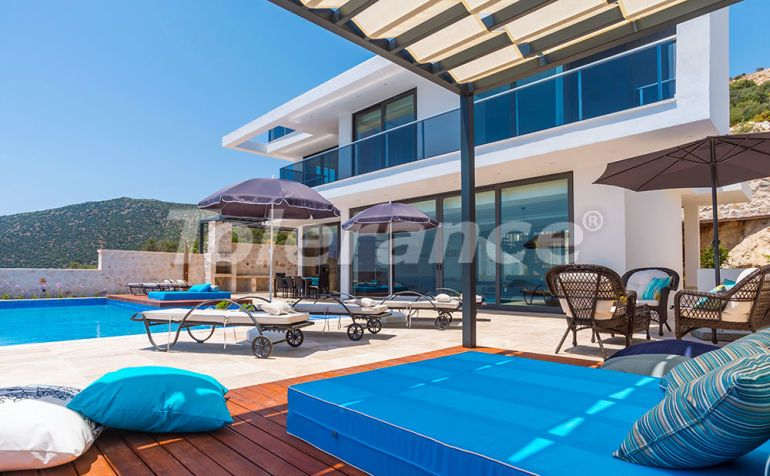Modern villa in the center of Kalkan with the stunning sea view and with guaranteed rental income - 22340 | Tolerance Homes