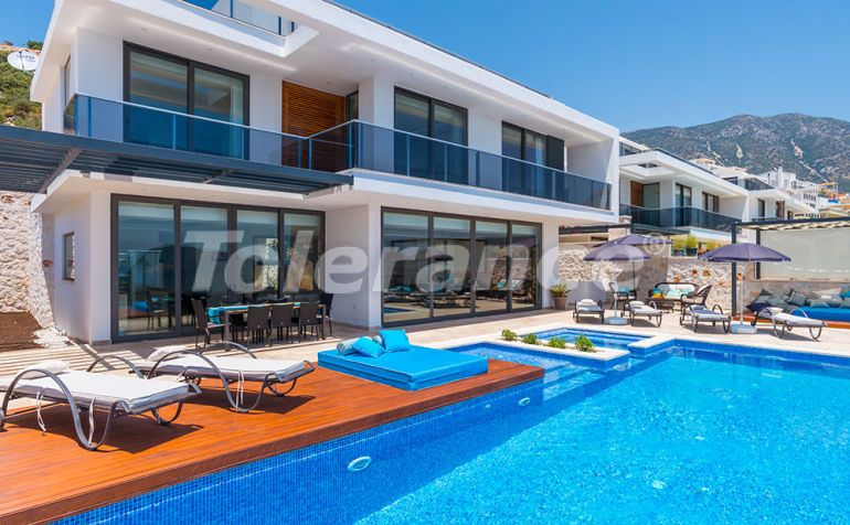 Modern villa in the center of Kalkan with the stunning sea view and with guaranteed rental income - 22339 | Tolerance Homes