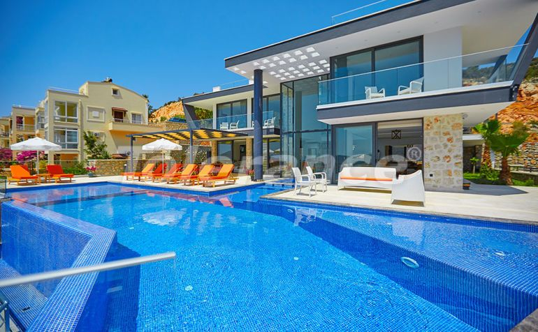 Villa in Kalkan with the splendid sea view and with the guaranteed rental income - 22939   Tolerance Homes