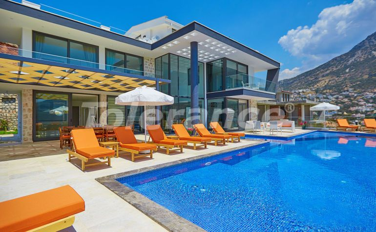 Villa in Kalkan with the splendid sea view and with the guaranteed rental income - 22937   Tolerance Homes
