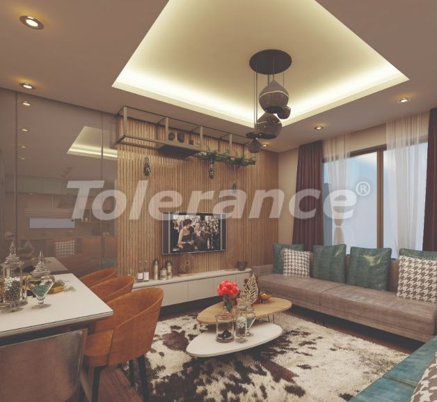 Stylish apartments in Lara, Antalya in a modern complex with an outdoor pool - 22699 | Tolerance Homes