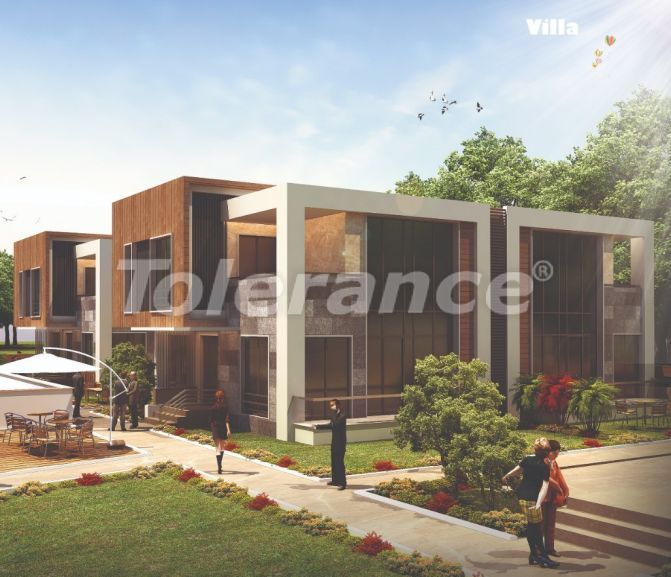 Stylish villas in Lara, Antalya in a complex with an outdoor pool with the possibility of obtaining citizenship - 22709 | Tolerance Homes