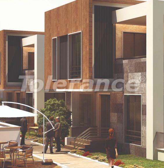 Stylish villas in Lara, Antalya in a complex with an outdoor pool with the possibility of obtaining citizenship - 22708 | Tolerance Homes