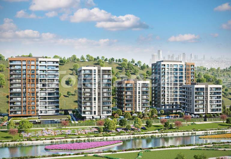 Modern apartments in Istanbul with 5 years rental guarantee from the best developer - 23103 | Tolerance Homes