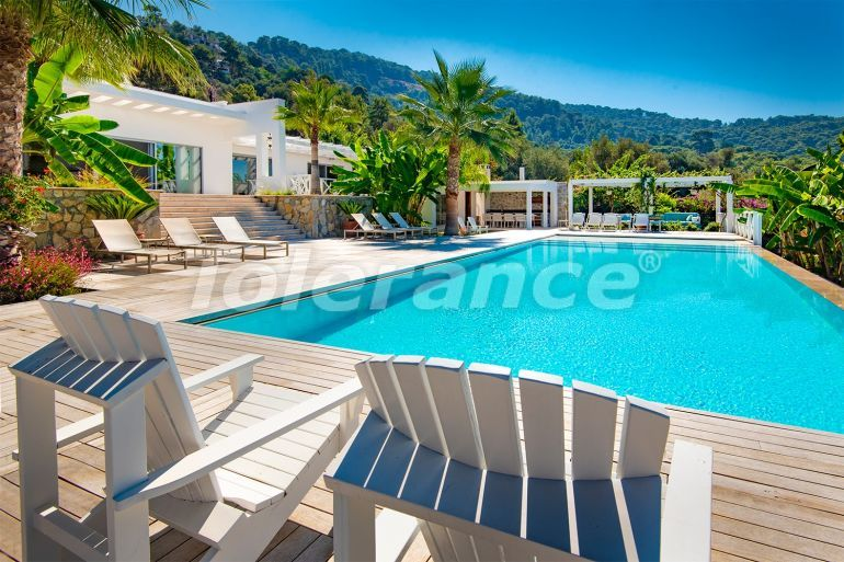 Luxury villa in Fethiye with private beach and sea views - 23197   Tolerance Homes